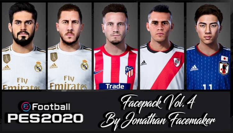 eFootball PES 2020 / Facepack Vol. 4